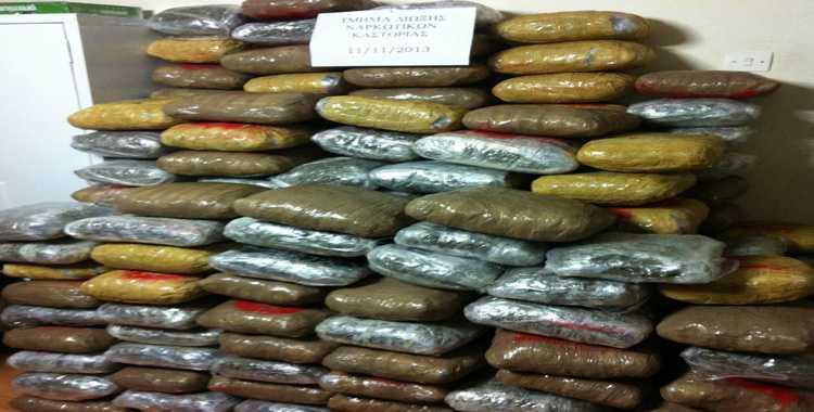 Σύλληψη ημεδαπού στο Γράμμο Καστοριάς για μεταφορά ναρκωτικών ουσιών Κατασχέθηκαν σχεδόν 228 κιλά κάνναβης