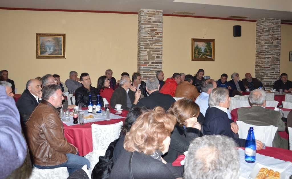 Π. Κουκουλόπουλος (σε πολιτική εκδήλωση στα Σέρβια):  «Νέα Μονάδα και πρωτογενής τομέας μας οδηγούν στην ανάπτυξη».