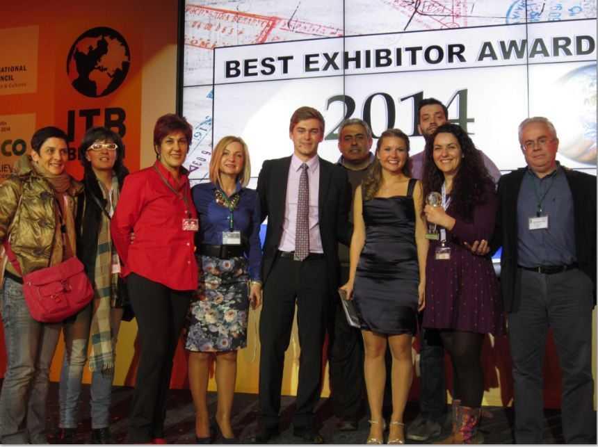 Βραβείο για την ΑΝΚΟ στη Διεθνή 'Έκθεση Tουρισμού ΙΤΒ στο Βερολίνο