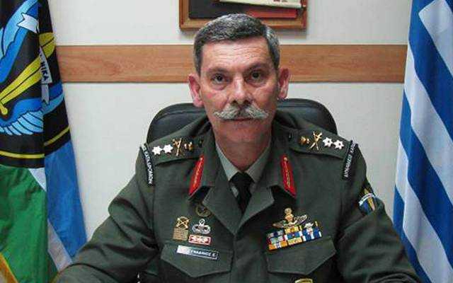 Ο Αντιστράτηγος Ελευθέριος Συναδινός, τ. Διευθυντής Ειδικών Δυνάμεων του Ελληνικού Στρατού, Υποψήφιος Ευρωβουλευτής με την Χρυσή Αυγή