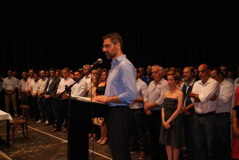 Η ορκωμοσία του νέου δημάρχου Κοζάνης Λευτέρη Ιωαννίδη και της  Δημοτικής Αρχής (Video)