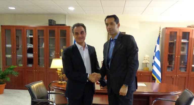 Στρατηγική επιλογή της Περιφέρειας Δυτικής Μακεδονίας  να αναδειχθεί ο TAP σε αναπτυξιακό άξονα  Επίσκεψη του Αζέρου Πρέσβη στον Περιφερειάρχη Δυτικής Μακεδονίας