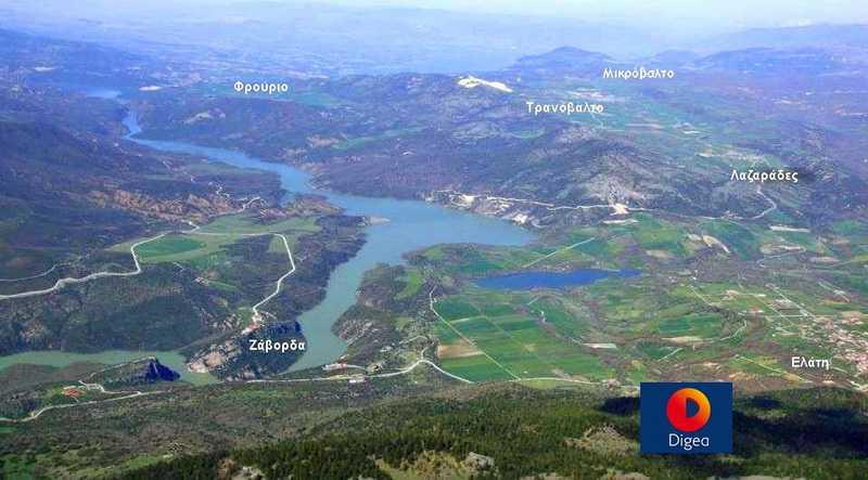 Η αλλαγή θέσης του πομπού Digea της «Βουνάσας» εξακολουθεί να κατατάσσει την περιοχή των Καμβουνίων στις «λευκές ζώνες»