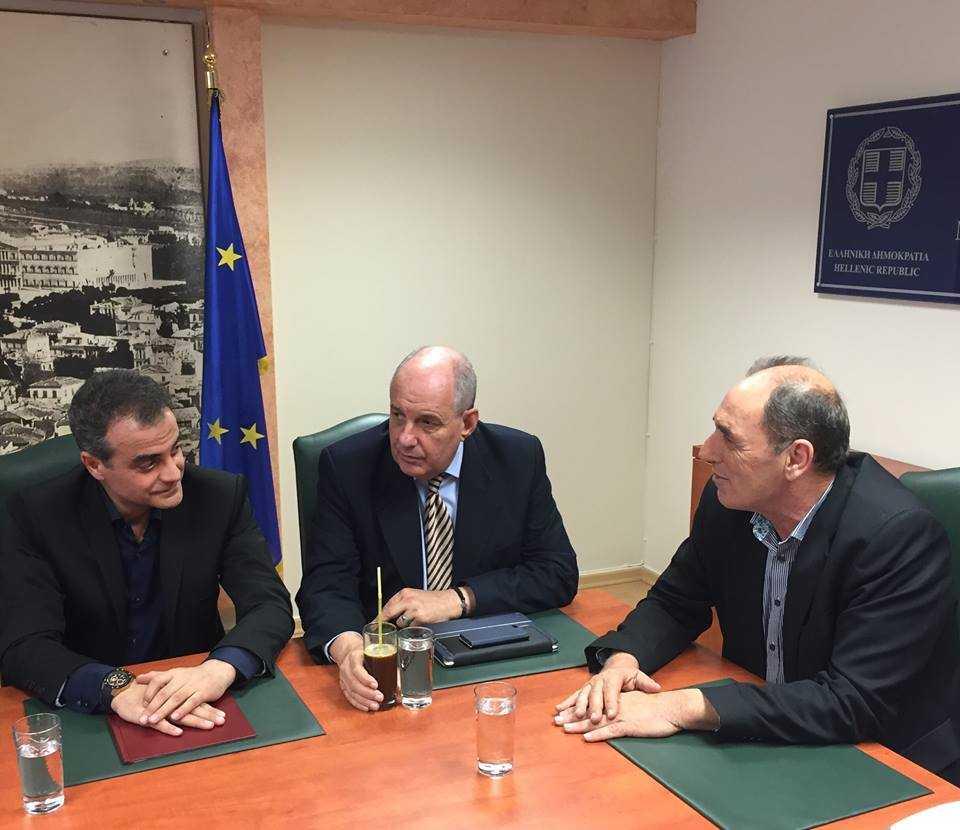 Συνάντηση ΕΝ.Π.Ε. με τον Υπουργό Οικονομίας, Υποδομών, Ναυτιλίας & Τουρισμού κ. Γ. Σταθάκη