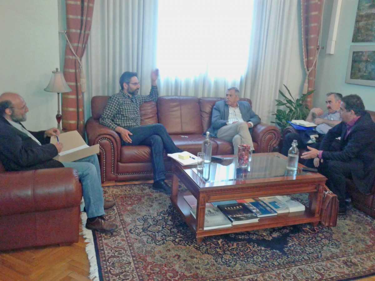 Συνάντηση για το Μαμάτσειο Νοσοκομείο Κοζάνης στο Γραφείο του Δημάρχου