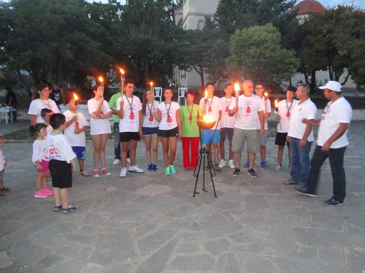 15η Λαμπαδηδρομία Εθελοντών Αιμοδοτών σε Κοζάνη και Πτολεμαΐδα