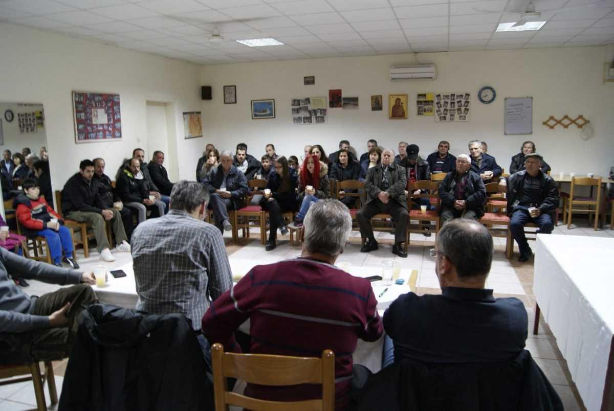 Λαϊκή Συνέλευση στην Τ.Κ. Μηλέας- Λ. Ιωαννίδης: Άμεσα ορατές οι παρεμβάσεις στην καθημερινότητα των Τοπικών Κοινοτήτων