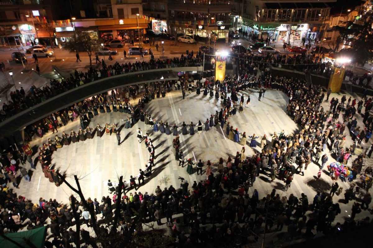 """Το Σάββατο βράδυ της Μικρής Αποκριάς 10 Φεβρουαρίου 2018 πραγματοποιήθηκε ο Ετήσιος Χορός του Συλλόγου Γρεβενιωτών Κοζάνης  """"Ο ΑΙΜΙΛΙΑΝΟΣ"""""""