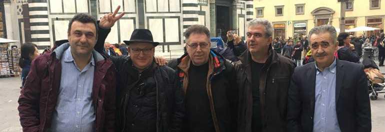 Παοκτσήδες... από την Πτολεμαΐδα στην Φλωρεντία για το ματς του ΠΑΟΚ