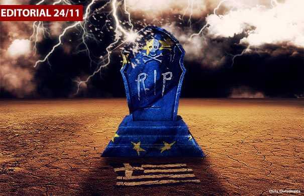 Η Ελλάδα σε καταστολή σε μια Ευρώπη υπό διάλυση
