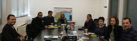 Συνάντηση για το Έργο «Γεωπύλη Πολιτισμικής Εγνατίας -Υπηρεσίες Προώθησης του Πολιτισμού και Τουρισμού των Περιφερειών που διασχίζει η Εγνατία οδός»