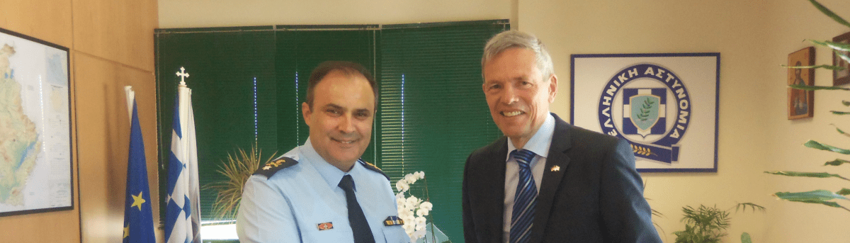 Συνάντηση του κ. Γενικού Περιφερειακού Αστυνομικού Διευθυντή Δυτικής Μακεδονίας με τον Γενικό Πρόξενο της Ομοσπονδιακής Δημοκρατίας της Γερμανίας στη Θεσσαλονίκη