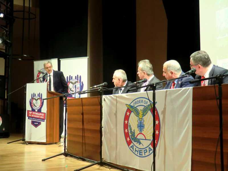 Χαιρετισμός ΠΑΡΙ ΚΟΥΚΟΥΛΟΠΟΥΛΟΥ  στο 18ο Πανελλήνιο Συνέδριο της AHEPA HELLAS Περιφέρεια D-25