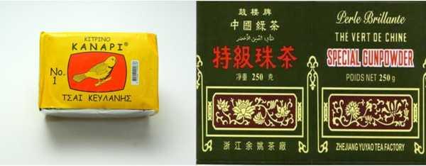 Ανάκληση μη ασφαλών τροφίμων «Τσάι Κεϋλάνης» και «Πράσινο Τσάι Κίνας»