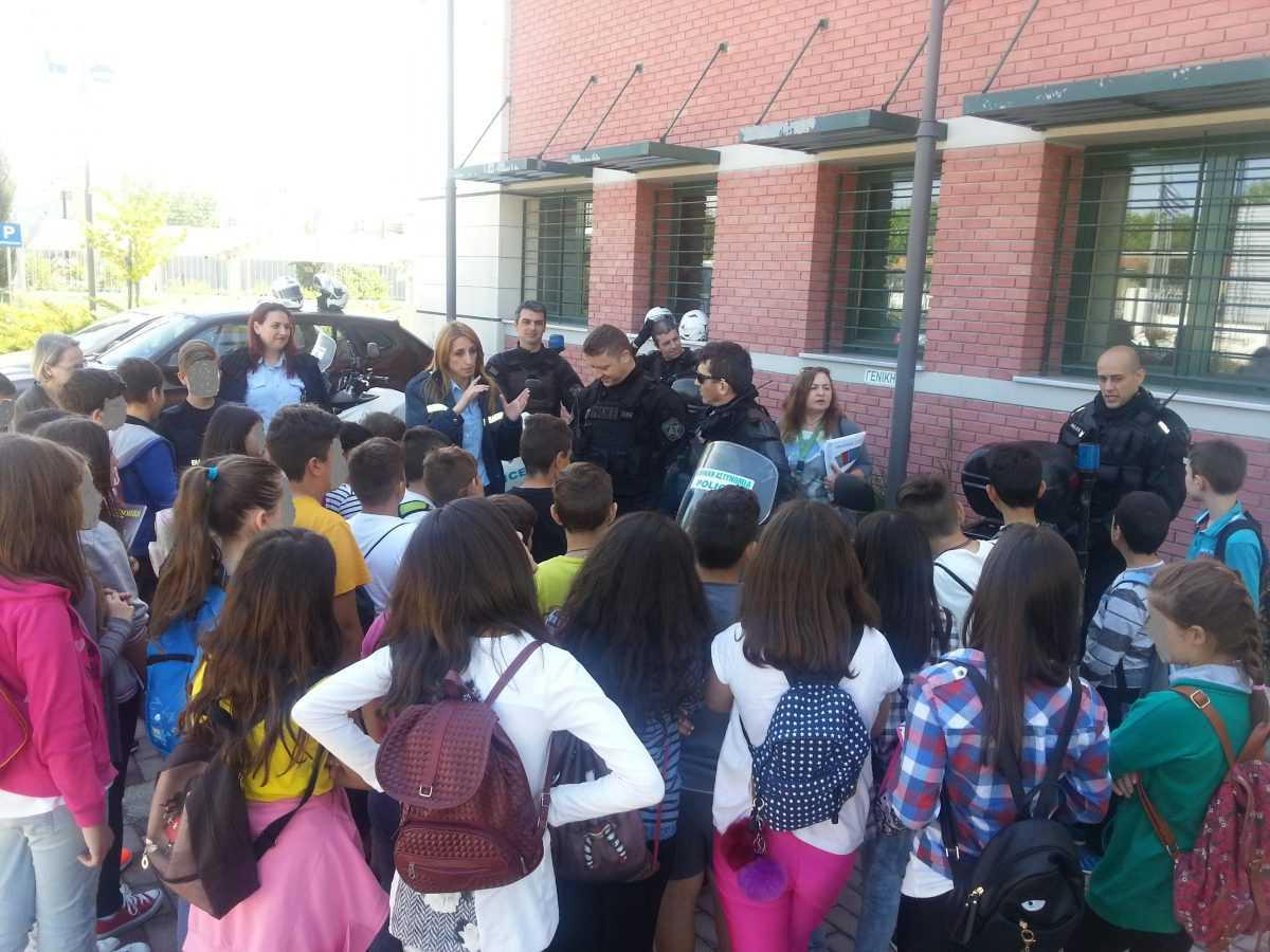 Συνεχίζονται οι ενημερωτικές διαλέξεις σε μαθητές της Δυτικής Μακεδονίας με θέμα την Οδική Ασφάλεια
