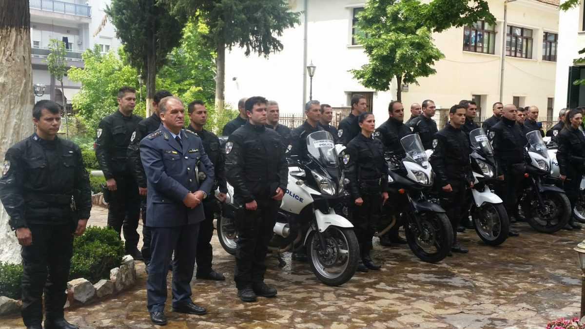 Τελέστηκε Αγιασμός των Ομάδων Δίκυκλης Αστυνόμευσης (ΔΙ.ΑΣ.) της Διεύθυνσης Αστυνομίας Κοζάνης στο Επισκοπείο της Ιεράς Μητρόπολης Σερβίων & Κοζάνης