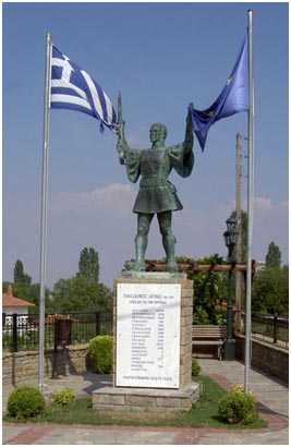 Eτήσιο μνημόσυνο  υπέρ των πεσόντων Μακεδονομάχων  στη μάχη της Οσνίτσανης  κατά τη διάρκεια του Μακεδονικού Αγώνα