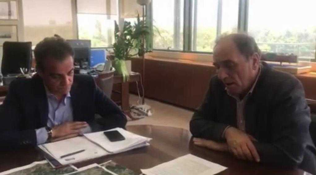 Προχωρούν ταχύτατα οι διαδικασίες για τους Αναργύρους-  Στο Προεδρικό Διάταγμα, που βρίσκεται σε τελικό στάδιο και η Ακρινή, με διαβεβαίωση του Υπουργού Περιβάλλοντος και Ενέργειας Γ. Σταθάκη