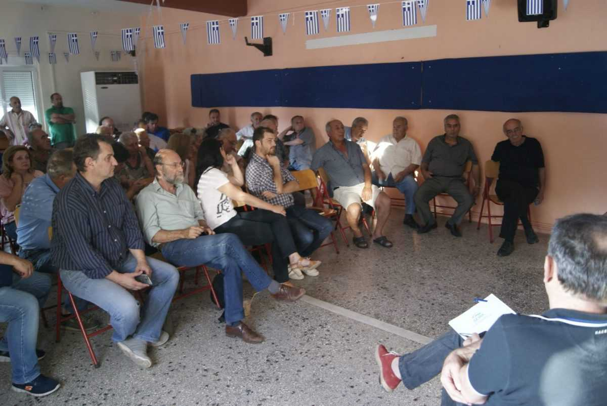 Ο Δήμος Κοζάνης κοντά στους πολίτες- Στην ΤΚ Μαυροδενδρίου συνεχίστηκαν  οι λαϊκές συνελεύσεις με επίκεντρο τη λειτουργία του νέου δικτύου αποχέτευσης