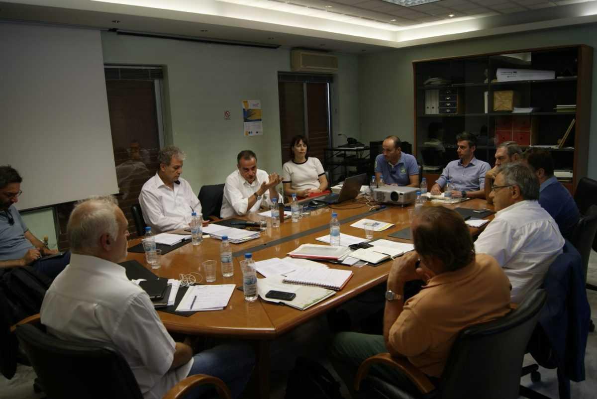 Συνάντηση εργασίας φορέων της τοπικής αυτοδιοίκησης, των επιχειρήσεων και της ΕΤΒΑ ΒΙ.ΠΕ.  για την νέα Βιομηχανική Περιοχή στην Κοζάνη