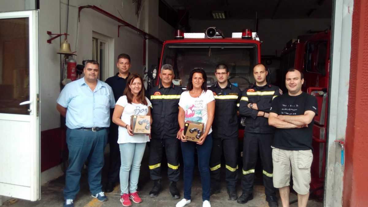Δωρεά του ΣΜΑΚ προς την Πυροσβεστική Υπηρεσία Κοζάνης