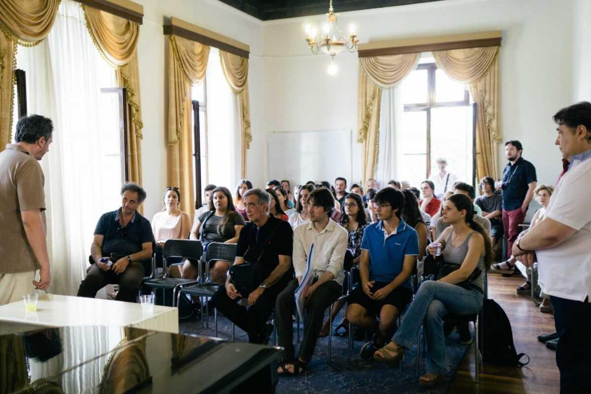 Έναρξη για το Διεθνές Σεμινάριο Μουσικής Κοζάνης 2017 με την υποδοχή των μαθητών και το γκαλά των Καθηγητών