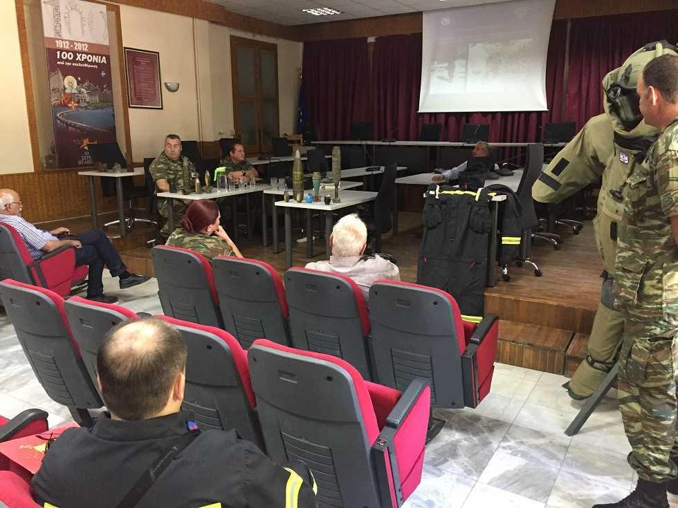 Ανευρεθέντα πυρομαχικά από πολίτες σε κτήματα, κατεδαφισμένα ή ερειπωμένα σπίτια κ.α και ενημερωση από τον Ελληνικό Στρατό στα Σέρβια