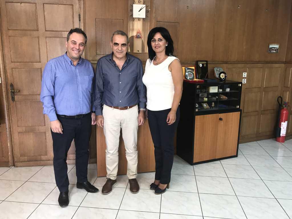 Σημαντικές επαφές στην Αθήνα της Μαρίας Καρυπίδου Εντεταλμένης Συμβούλου Πολιτικής Προστασίας, Μετεγκαταστάσεων – Εταιρικής Κοινωνικής Ευθύνης