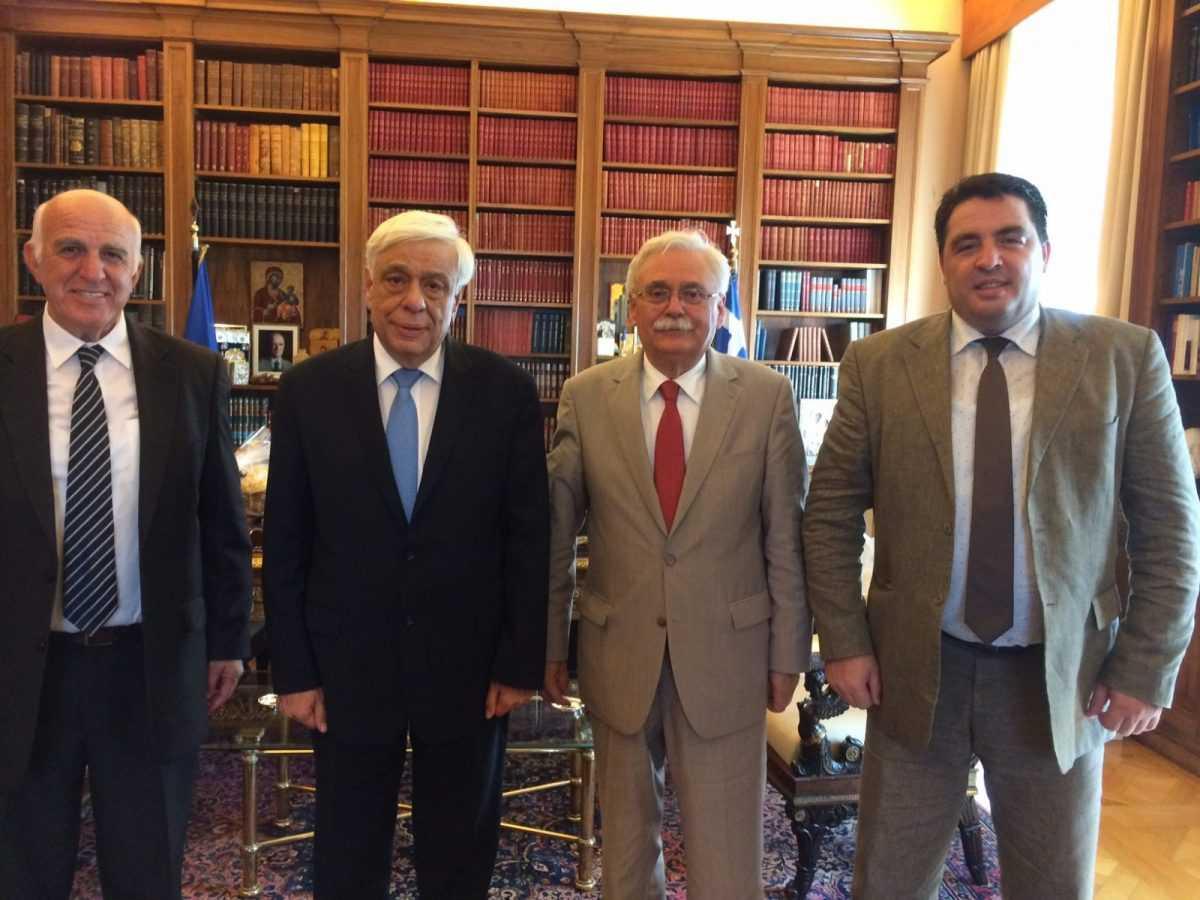 Στον Πρόεδρο της Δημοκρατίας ο Δήμαρχος Βοΐου μαζί με αντιπροσωπεία του Δήμου