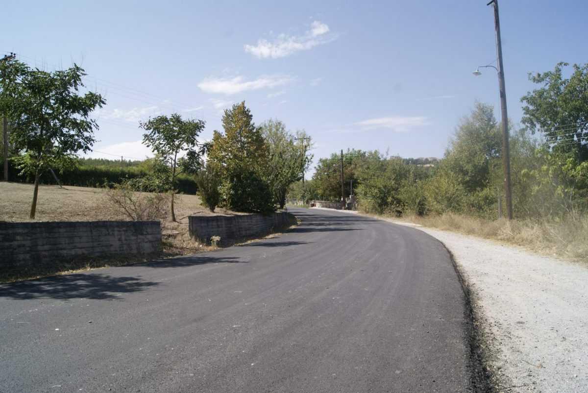 Σημαντική βελτίωση  στο δρόμο Μελίσσια- Κοίλα