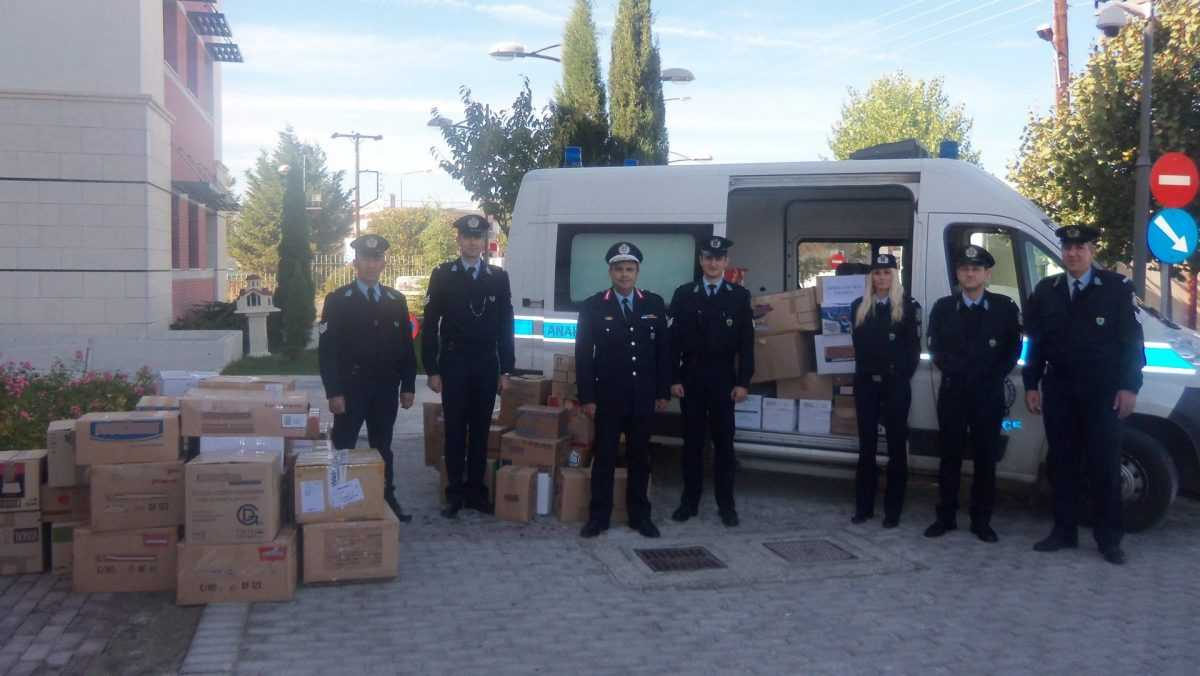 Το προσωπικό των Αστυνομικών Υπηρεσιών της Δυτικής Μακεδονίας συμμετέχει στην προσπάθεια στήριξης του οργανισμού «Το Χαμόγελο του Παιδιού» που διαχρονικά εκδηλώνεται έμπρακτα από την Ελληνική Αστυνομία