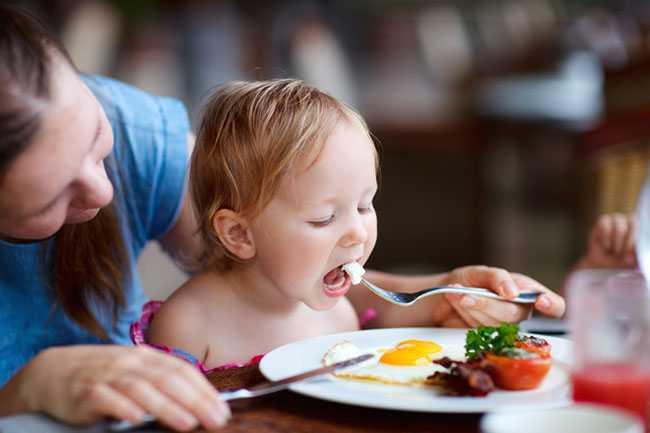 Διατροφικά μηνύματα σε παιδιά