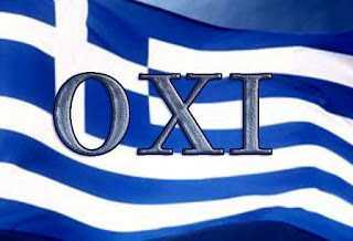 Όταν λέμε ΟΧΙ, εννοούμε ΟΧΙ.  Γράφει ο Αριστοτέλης Βασιλάκης Με αφορμή την 75η επέτειο για το μεγάλο ΟΧΙ...