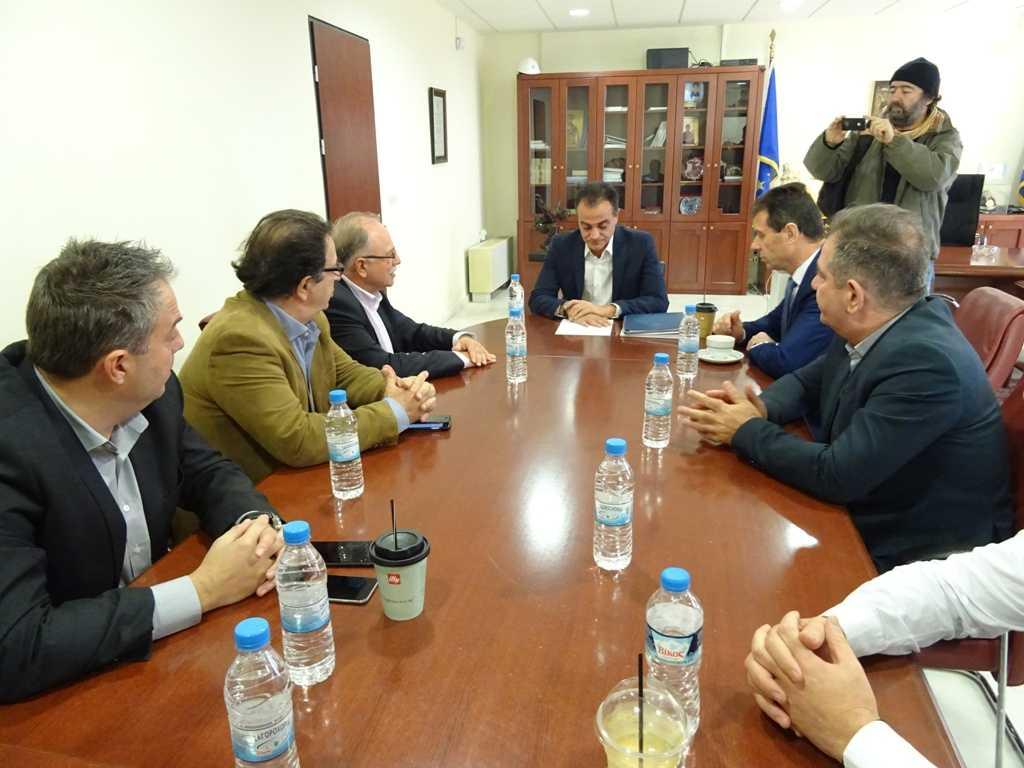 Τα εύσημα από τον Αντιπρόεδρο του Ευρωκοινοβουλίου Δ. Παπαδημούλη στον Περιφερειάρχη Δυτικής Μακεδονίας Θ. Καρυπίδη για φυσικό αέριο και οδικό χάρτη μετάβασης στη μεταλιγνιτική περίοδο-Βασικό μας μέλημα η αποκατάσταση της αδικίας τόνισε ο Περιφερειάρχης