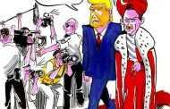 Φρενοκομείο «Η Τουρκία».  Tramp: Να πάρει! Μισώ του δημοσιογράφους!    Erdogan: Κάνε ότι κάνω εγώ... φυλάκισε τους!