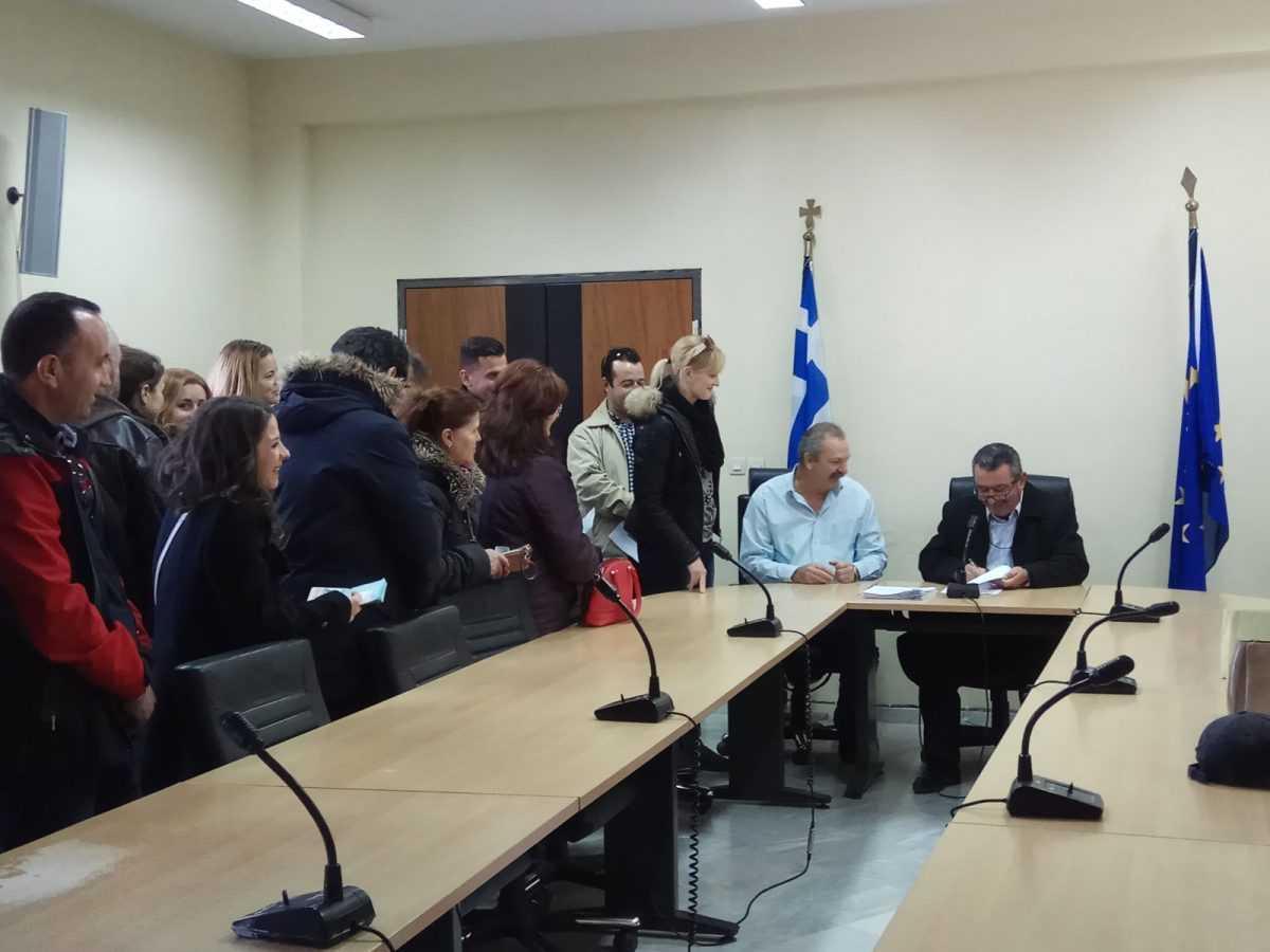 Τελετή ορκωμοσίας είκοσι ενός (21) ατόμων που απέκτησαν την ελληνική ιθαγένεια με πολιτογράφηση, πραγματοποιήθηκε σήμερα 05/12/2017