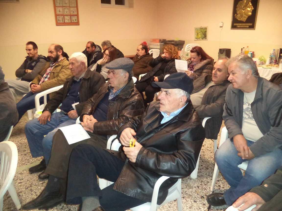 Πραγματοποιήθηκε η Γενική Συνέλευση και η κοπή πίτας στην τ.κ. Κερασιάς