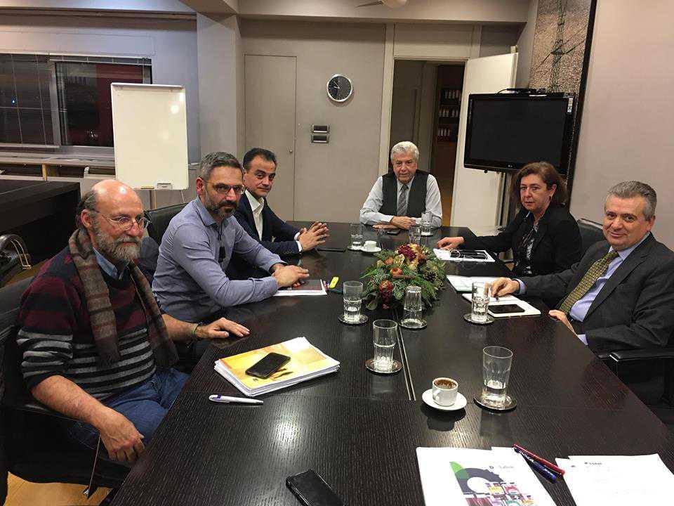 Τα ανοιχτά θέματα ΔΕΗ και τοπικής κοινωνίας στην ατζέντα της συνάντησης του Πρόεδρου της ΔΕΗ με το Δήμαρχο Κοζάνης και τον Περιφερειάρχη Δυτικής Μακεδονίας