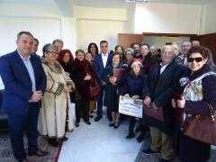 Ευχές και Κάλαντα στο Διοικητήριο ΠΔΜ στην Πτολεμαΐδα