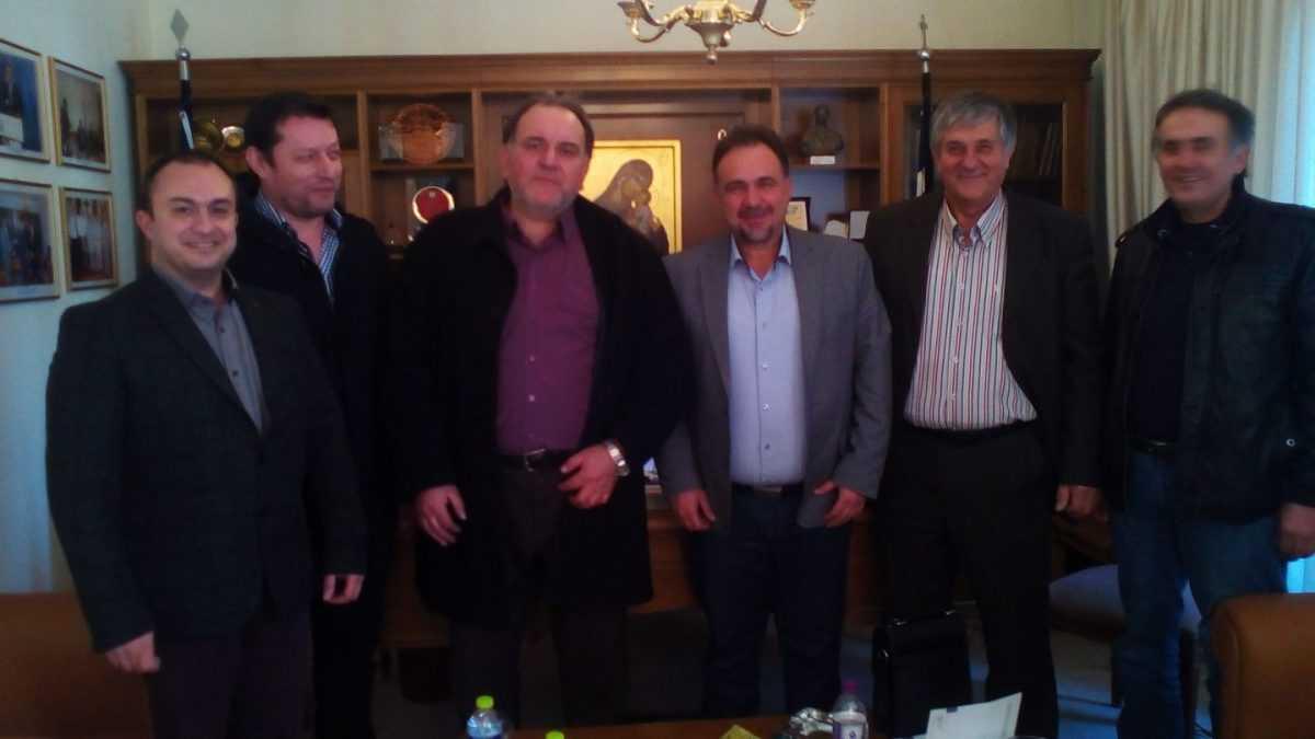Συνάντηση των προέδρων των Επιμελητηρίων Κοζάνης και Φλώρινας.