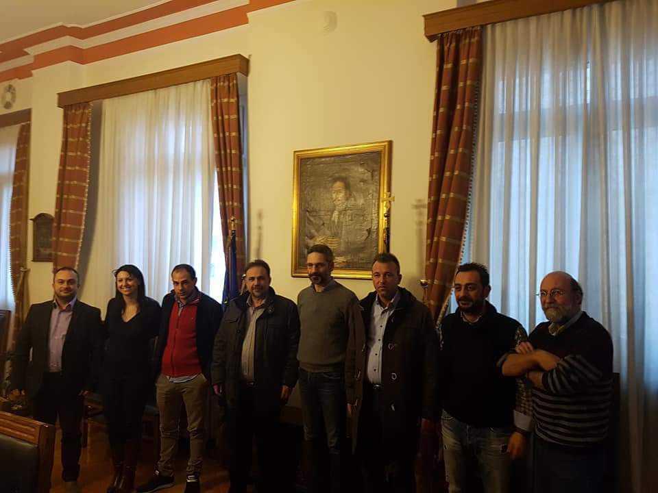 Σειρά συναντήσεων του Προέδρου του Επιμελητηρίου Κοζάνης κ. Νικολάου Σαρρή και των μελών της νέας Διοικητικής Επιτροπής