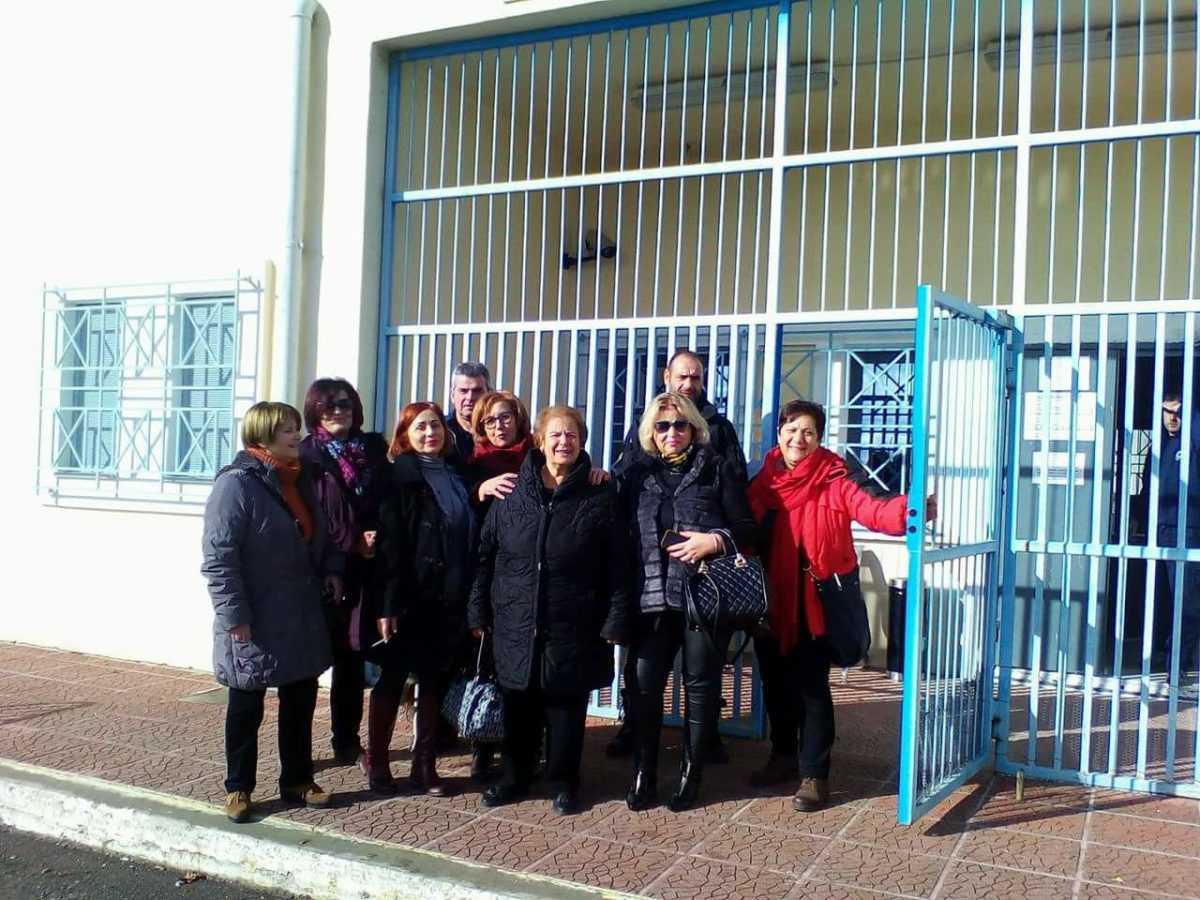Επίσκεψη συλλόγου «Ελπίδα» Γρεβενών Στο Κατάστημα Κράτησης Γρεβενών