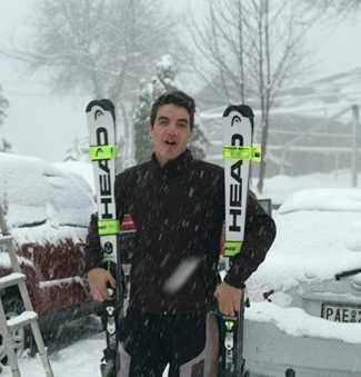 Γιώργος Καράτζιας από τη Λευκοπηγή, ο μεγάλος πρωταγωνιστής  των αγώνων του Πανελληνίου Πρωταθλήματος Αλπικού Σκι