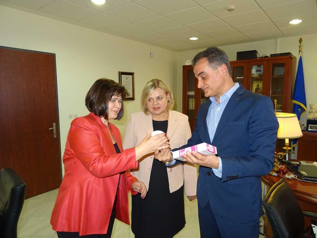 Τον Περιφερειάρχη Δυτικής Μακεδονίας επισκέφθηκε η Πρέσβειρα της Σλοβακίας