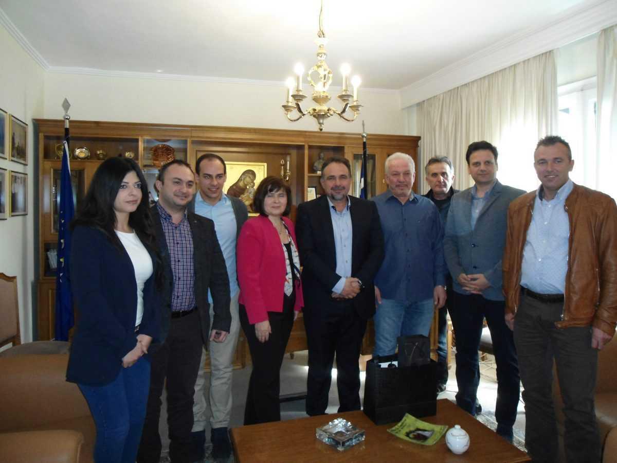 Επίσκεψη στο Επιμελητήριο Κοζάνης της Πρέσβεως της Δημοκρατίας της  Σλοβακίας