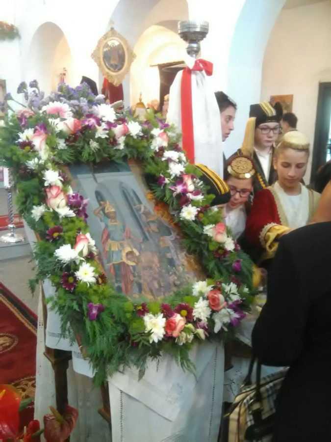 Μεταφορά Ιεράς Εικόνας Τιμίου Προδρόμου και Βαπτιστού Αγίου Ιωάννη Βαζελώνα στον Ι.Ν. Αγίου Θωμά Αμαρουσίου