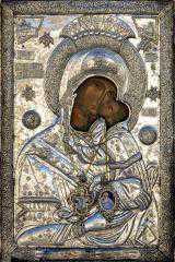 H Iερή Eικόνα της Παναγίας Ζιδανιώτισσας στην Κοζάνη και σε κοινότητες της Κοζάνης. Την Κυριακή η μεγάλη Λιτανεία.
