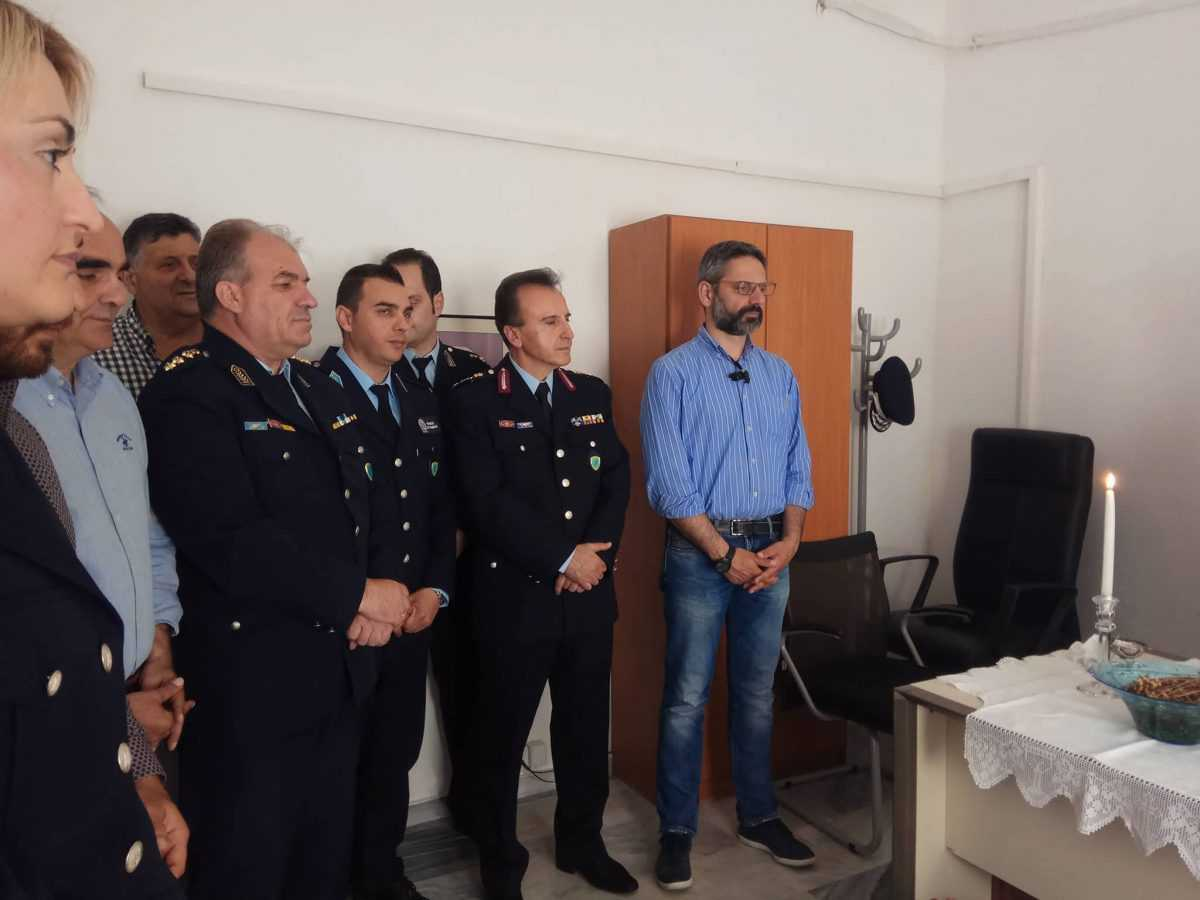 Τελέστηκε οΑγιασμός για την έναρξη λειτουργίας του θεσμού του Τοπικού Αστυνόμου, στη Δημοτική Κοινότητα Αιανής