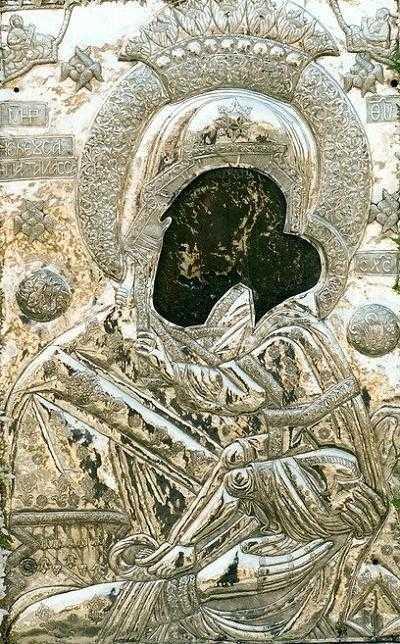 H  Iερή  Eικόνα  της  Παναγίας  Ζιδανιώτισσας επιστρέφει στο Μοναστήρι της