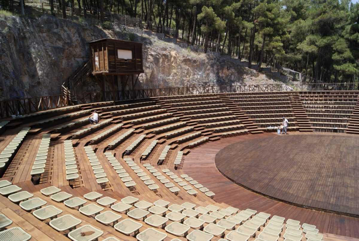 Το Υπαίθριο Θέατρο Κοζάνης ξαναβρήκε τη